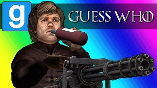 Gmod Guess Who Funny Moments - Game of Thrones Edition! (Garry's Mod)