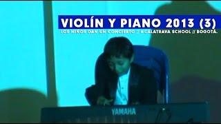 Violín y teclado // Colegio Calatrava 2013 (3)