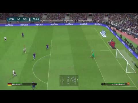Pes2017 Barcelona vs Almanya
