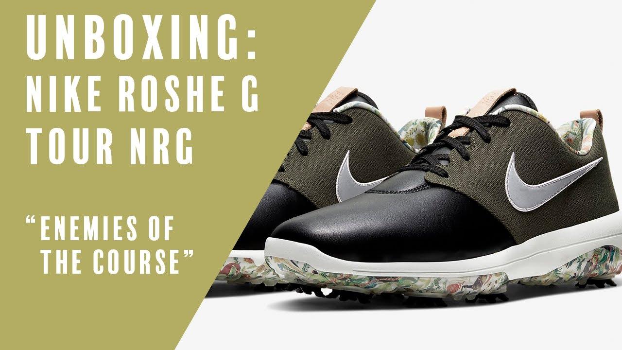 Nike Golf: Unboxing the Roshe G Tour