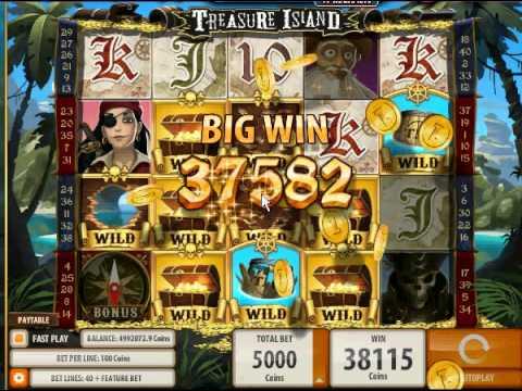 Best slot machine treasure island