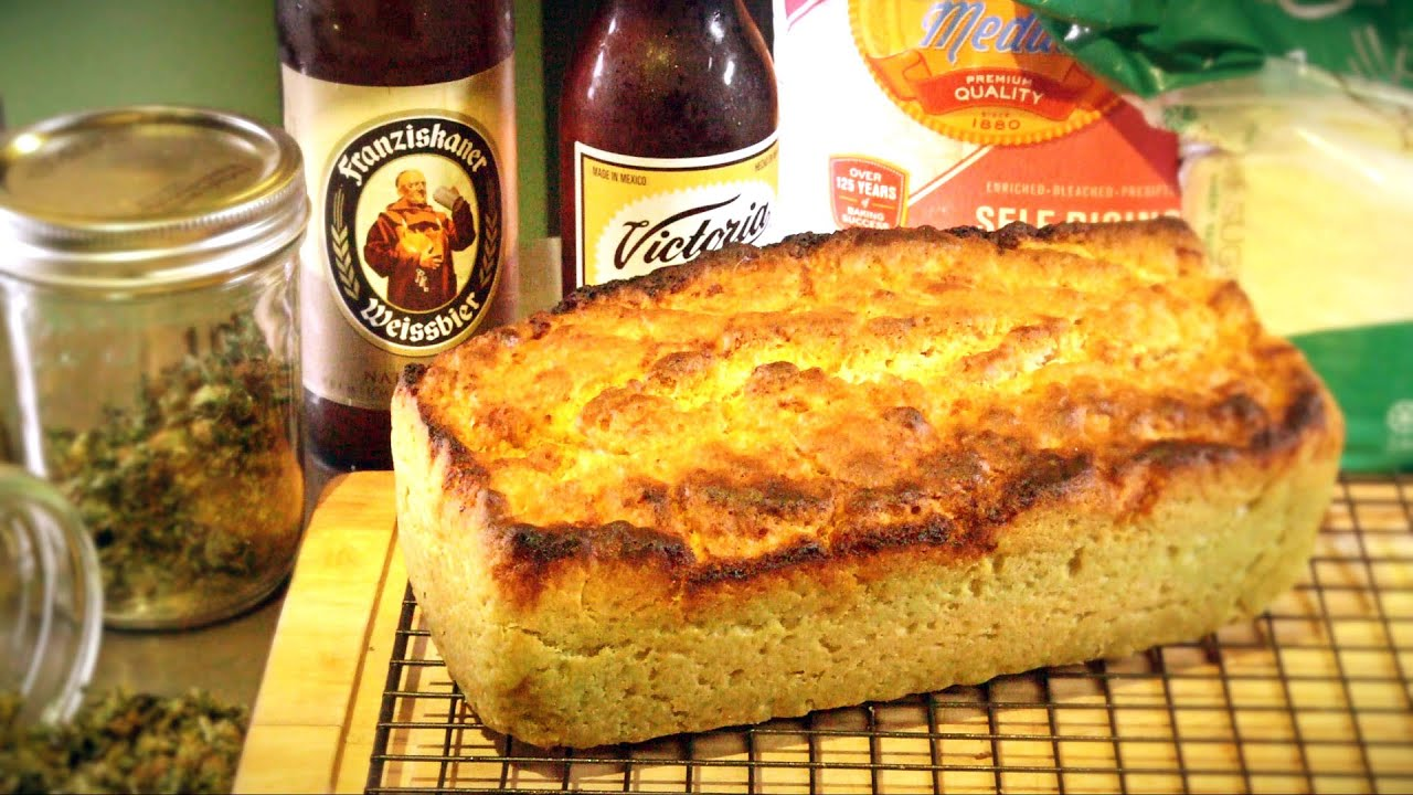 How to Make Weed Beer Bread (Weerd Bread): Cannabasics #15