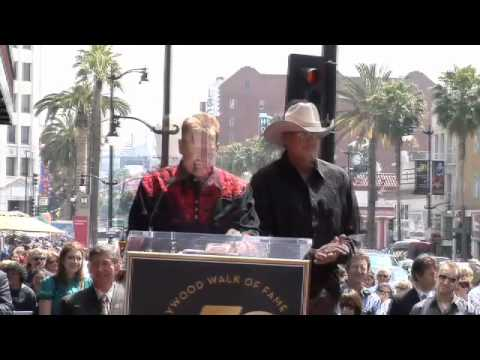 Alan Jackson Hollywood Walk Of Fame Star Ceremony