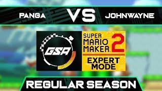 PangaeaPanga vs SVJohnWayne   Regular Season   GSA SMM2 Expert Mode Speedrun League DB Season 3