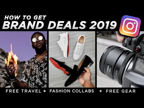 Reach Out To Brands & GET PAID ON INSTAGRAM 2019 | How To Collaborate