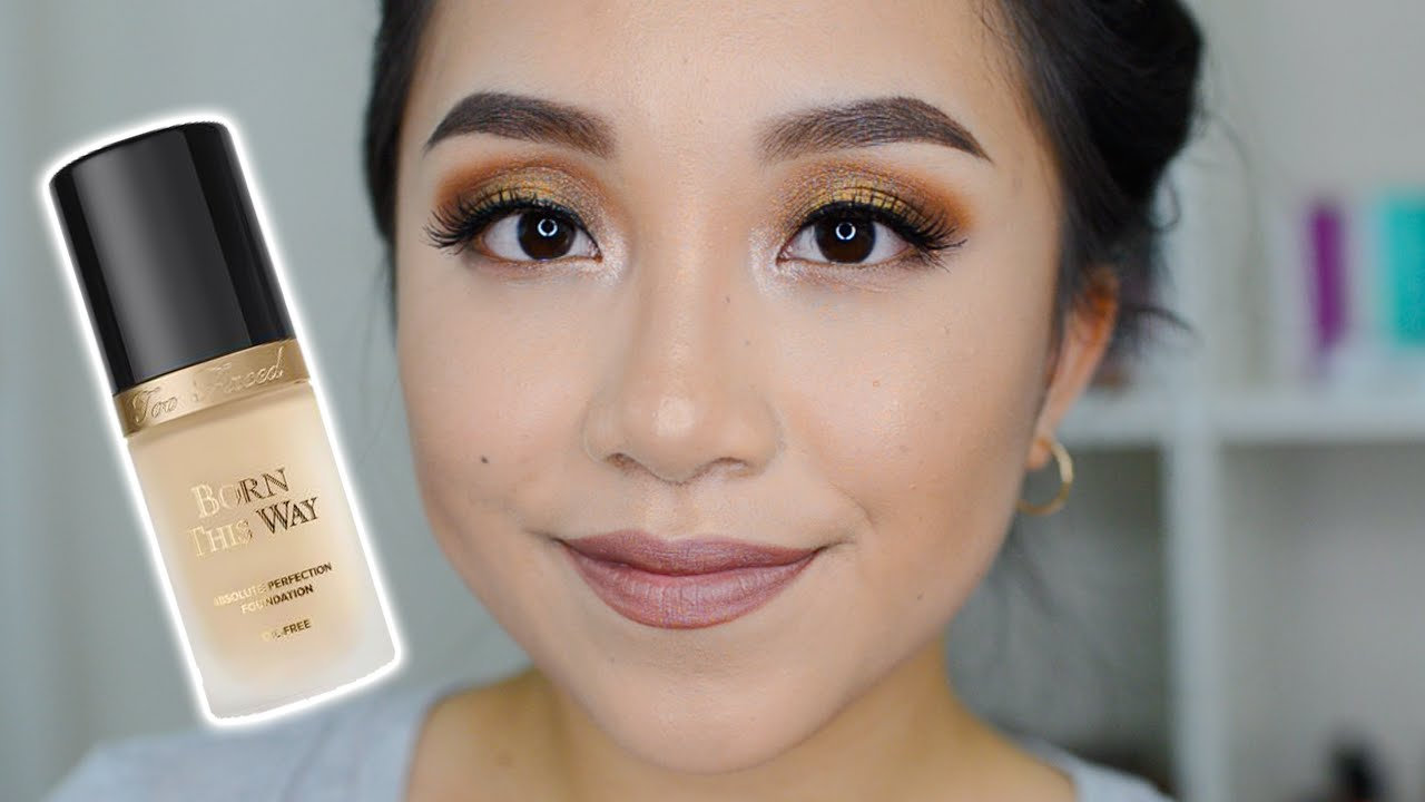 Too Faced Born This Way Foundation Review Normal Youtube