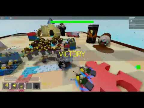 roblox Tower Defense Simulator my First win