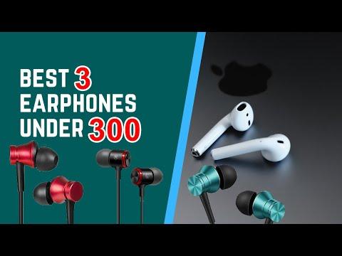 Top 3 Best Earphones Under 300 Rs in 2020 l Best Headphones Under 300 Hindi