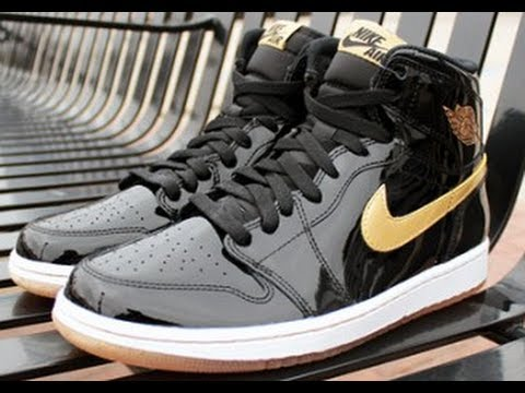 air jordan 1 black metallic gold 2013