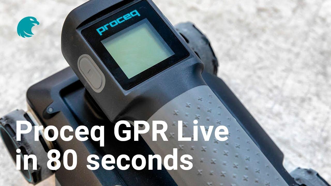 Portable Ground Penetrating Radar, Proceq GPR Live | Proceq