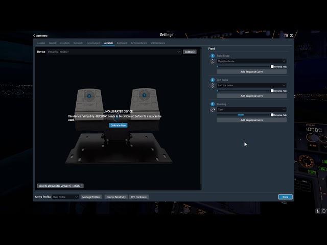 RUDDO+ Pedals Setup