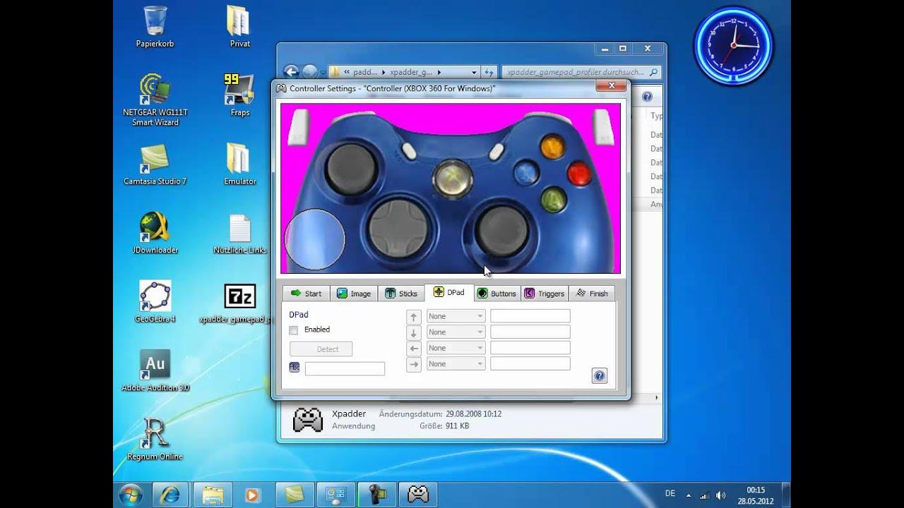 how to setup a controller for desmume