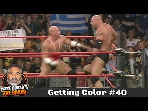 The Art Of Laying Out A Wrestling Match Getting Color 40 W Vince Russo Big Vito Youtube