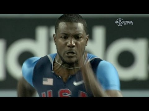 Justin Gatlin becomes Indoor Champion again - from Universal Sports