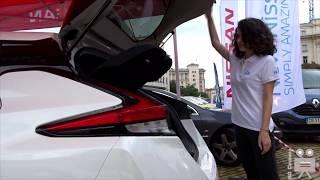 Nissan Leaf 2019 Interior Exterior Walkaround - Eco Rally Bulgaria