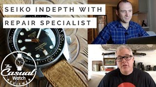 Learn about Seiko with Repair Specialist Spencer Klein