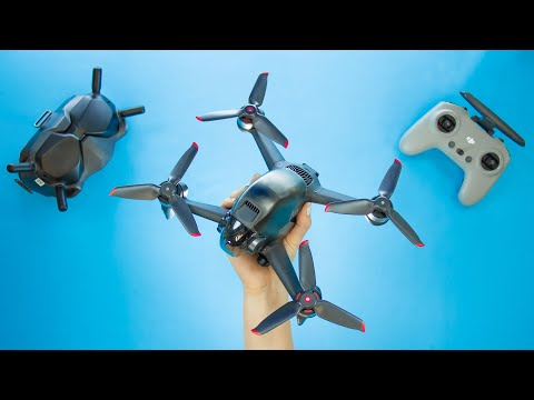 DJI FPV Drone Unboxing   WHAT A BEAST!!