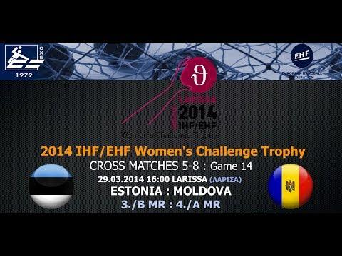 Live : Estonia -  Moldova 27-22 (29.03, 16:00) [3./B:4./A] CROSS MATCHES 5-8 - WCT LARISSA 2014