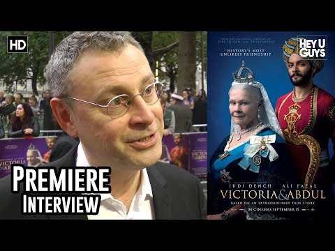 Writer Lee Hall - Victoria and Abdul Premiere Interview