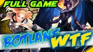Partida completa LUX MORGANA, Botlane WTF | League Of Legends - Jota