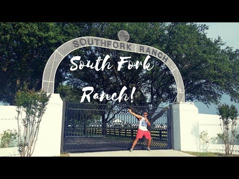 DALLAS THE TV SERIES  A TOUR OF SOUTH FORK RANCH  WHERE IT ALL BEGAN !
