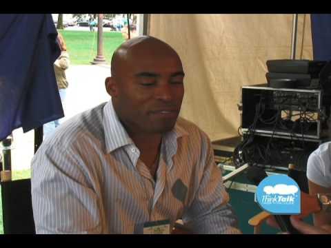 Tiki Barber former NFL Running Back inspiring advice on ThinkTalk