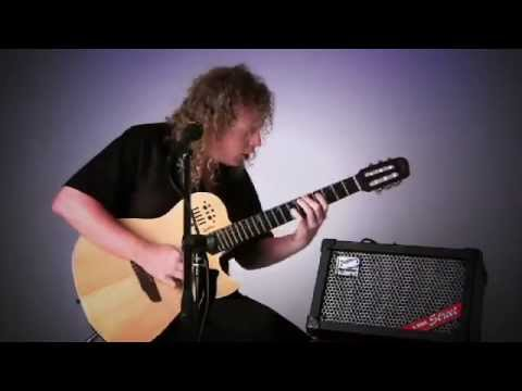 Roland CUBE STREET Amp introduced by Johnny DeMarco