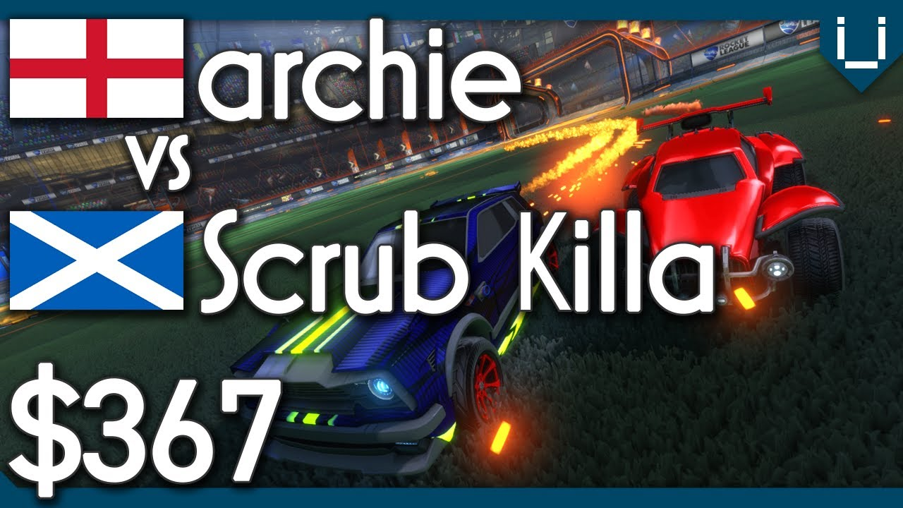 Archie vs Scrub Killa | $376 Rocket League 1v1 Showmatch thumbnail