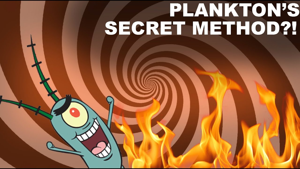 plankton u0027s secret in spongebob theory youtube