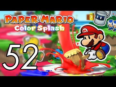 Let's Play Paper Mario: Color Splash [52] Sunset Express 1