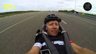 Kan Klaas harder fietsen dan een auto? - Stap 3