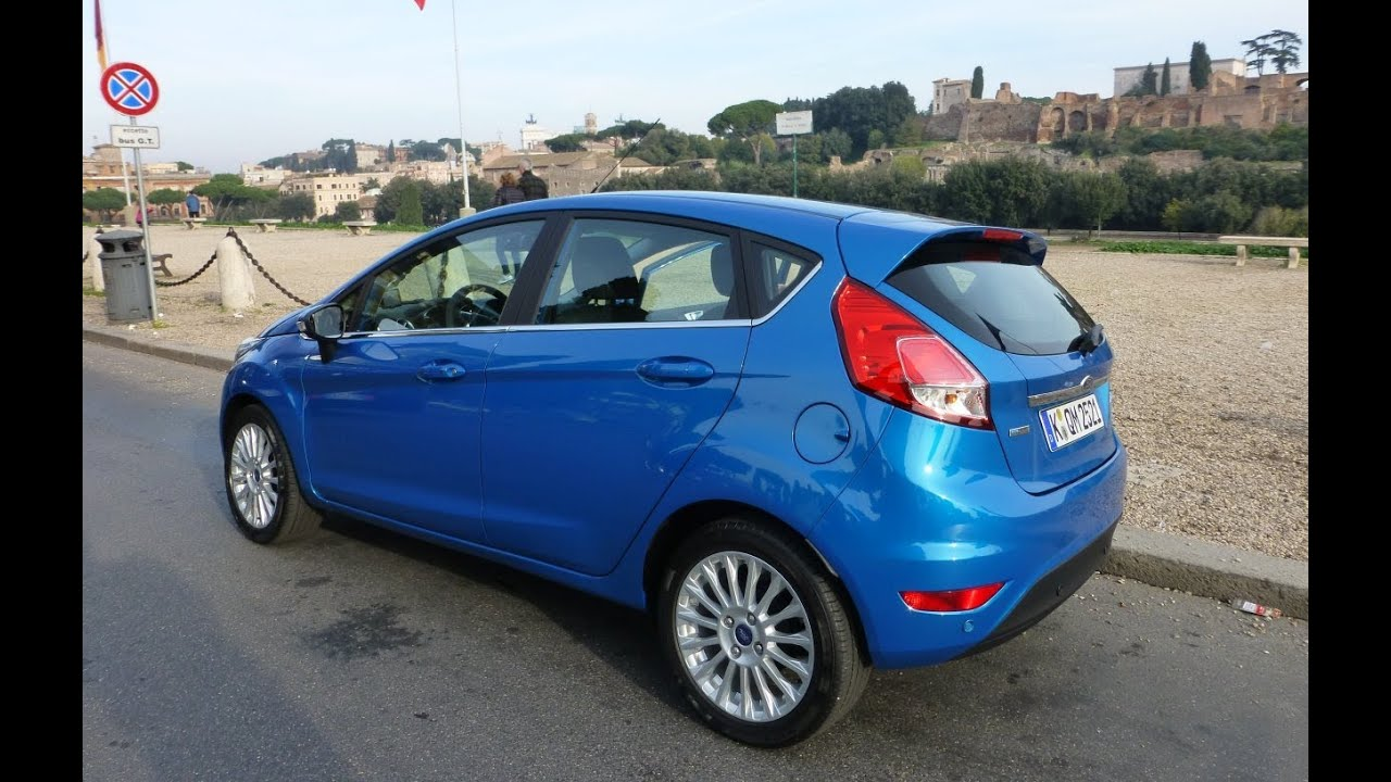 Ford My Key >> Ford Fiesta 2014 Hands On in Rome - YouTube