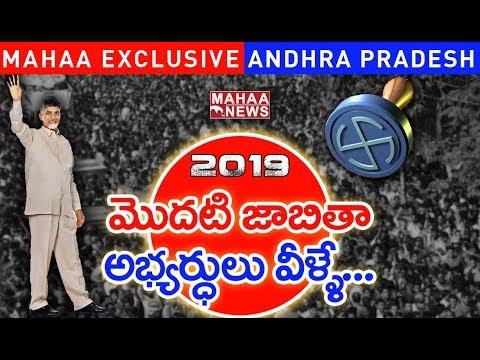 TDP Lok Sabha Candidates First List For 2019 Elections | Chandrababu | AP Politics | Mahaa Exclusive