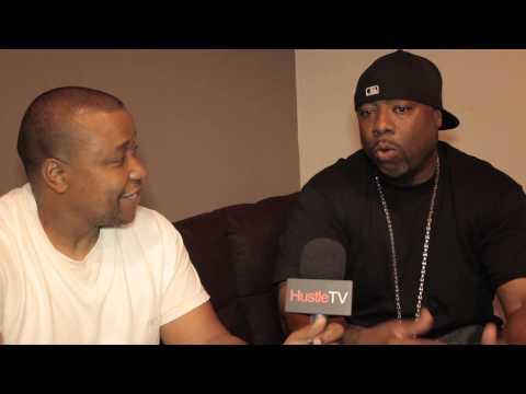 HustleTV DJ Hustle interviews west coast Legend WC,  DUBC @TherealDubWC