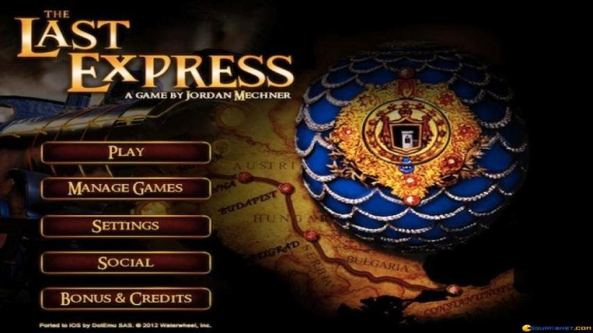 the last express game  free