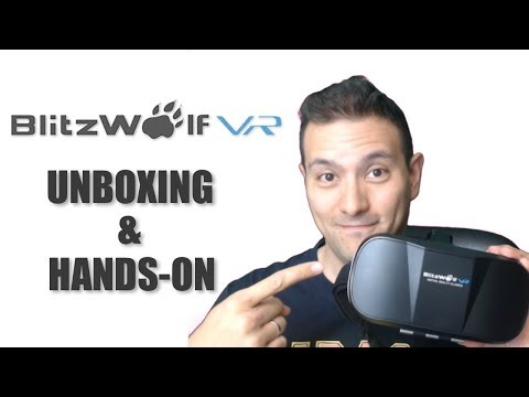 Best Mobile VR Headset for $30? Blitzwolf VR BW VR3 Unboxing & Hands-On Review