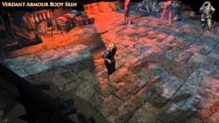 Path of Exile - Verdant Body Armour Skin