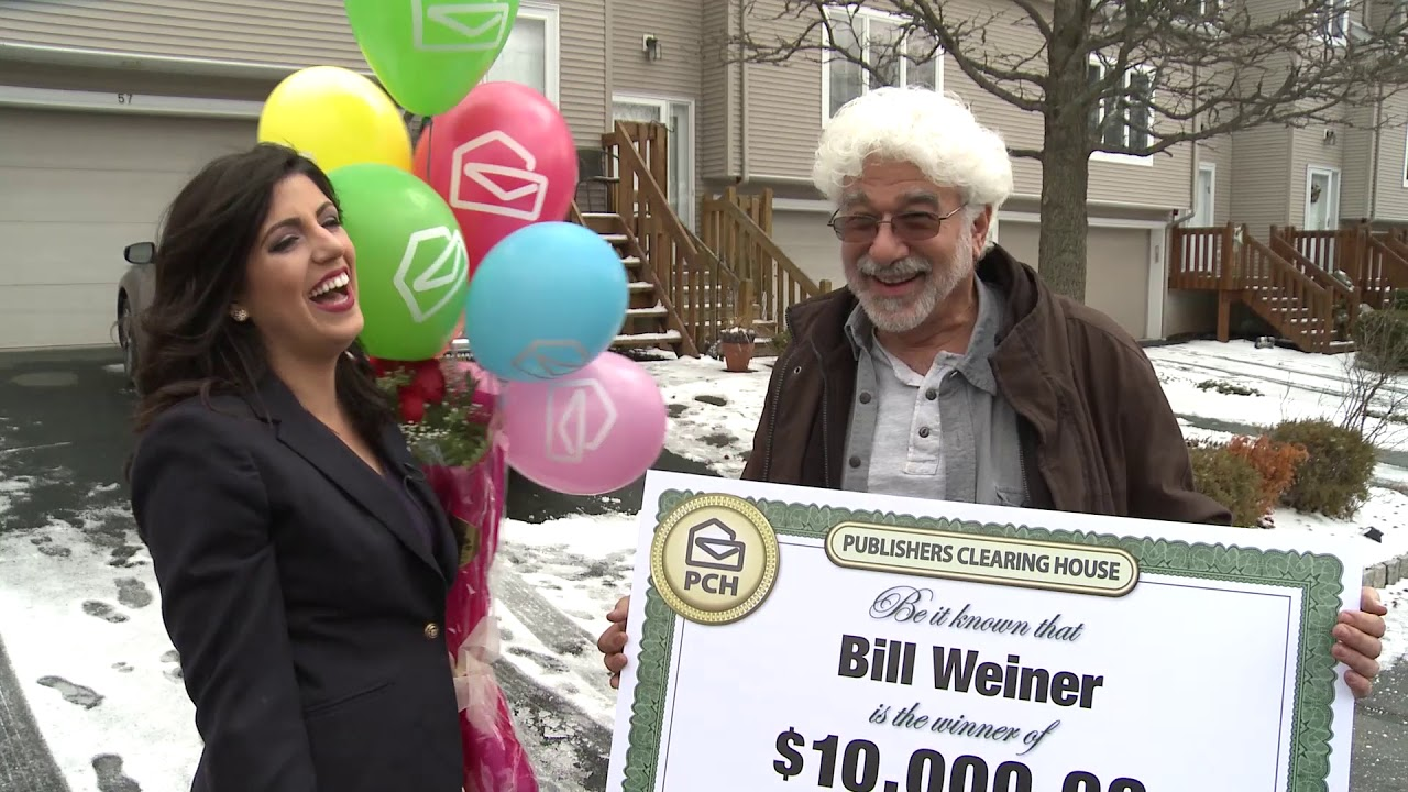 Publishers Clearing House Winners: Bill Weiner From Congers, New York Wins  $10,000