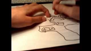 How to draw the ray gun mark 2 from black ops 2