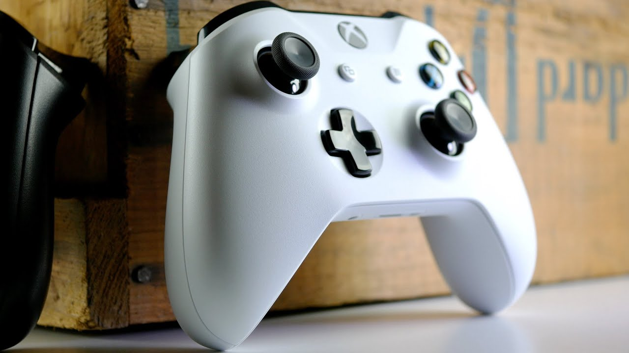 xbox one s controller overview and test youtube. Black Bedroom Furniture Sets. Home Design Ideas
