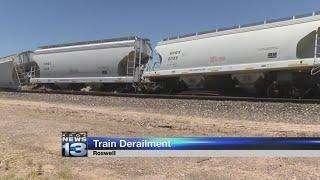 BNSF investigates derailed train near Roswell