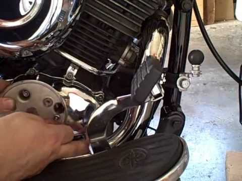Yamaha V Star Oil Change