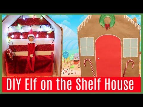 DIY Elf on the Shelf House + Elf on the Shelf Caught Moving?!
