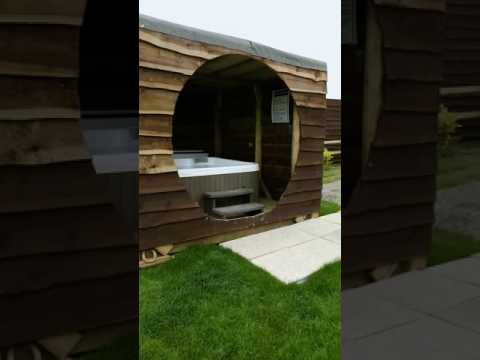 Glamping In Ceredigion At Bargoed Farm With A Hot Tub!
