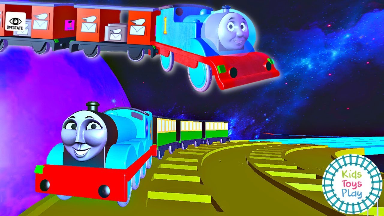 Let's Play Thomas and Friends Golden Galaxy on Roblox