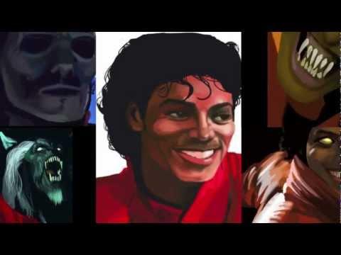 Michael Jackson Speed Painting-Thriller Part V