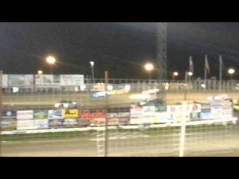 Late Model start river city Speedway