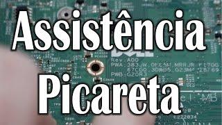 Assistência Picareta - Tirou peça do notebook do cliente