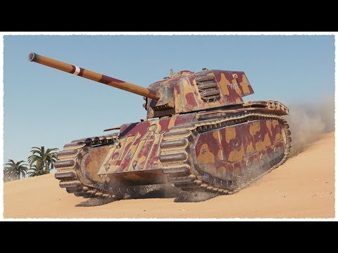 ARL 44 • 6100 damage on TIER 6 Heavy Tank • WoT Gameplay