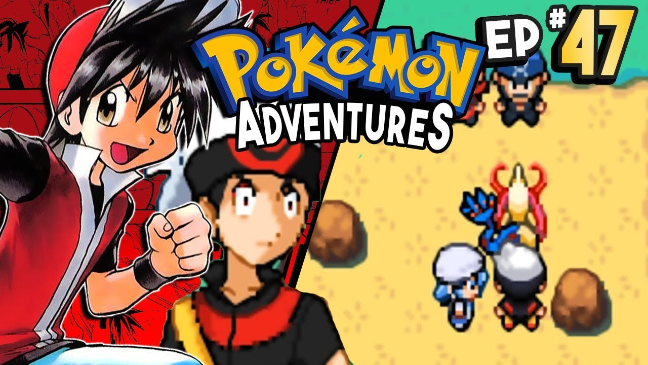 pokemon adventures red chapter part 47 ruby memory sphere rom hack gameplay walkthrough youtube